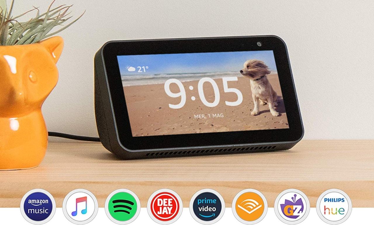 Offerte Best-Buy per Echo Show 5 e Echo Show 8: su Amazon è la festa degli smart display