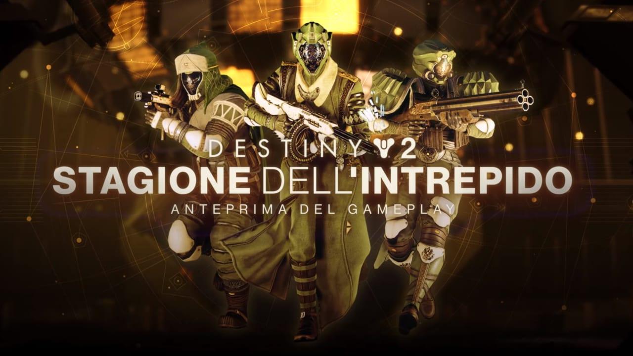 Destiny 2: la stagione dell'intrepido e le Prove di Oriside sono disponibile! (video)