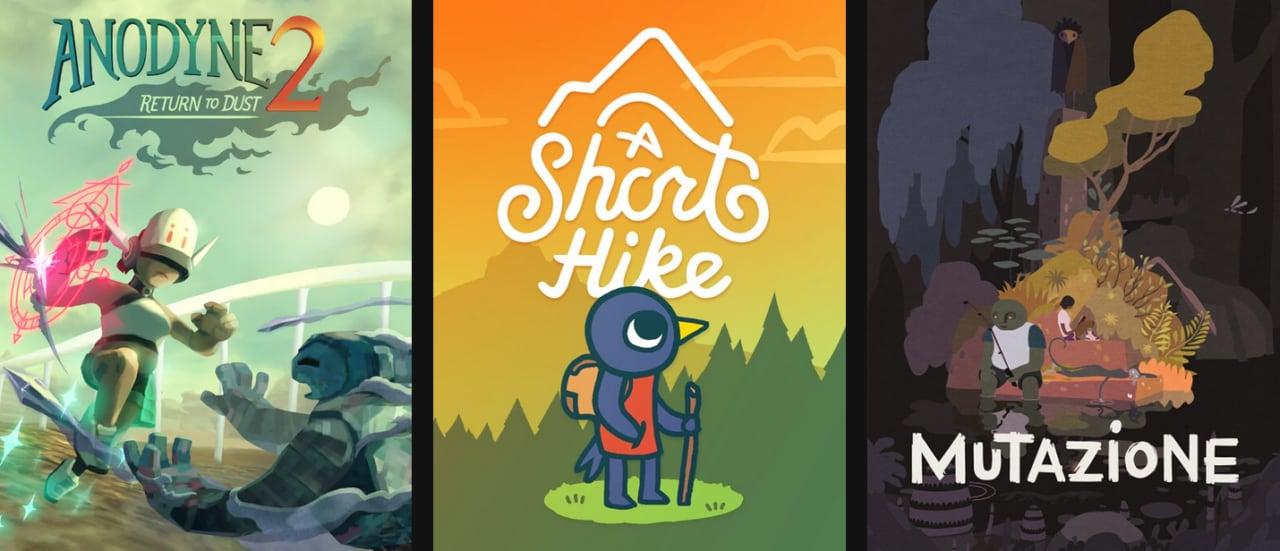 Anodyne 2, A Short Hike e Mutazione gratis su Epic Games Store fino al 19 marzo (video)