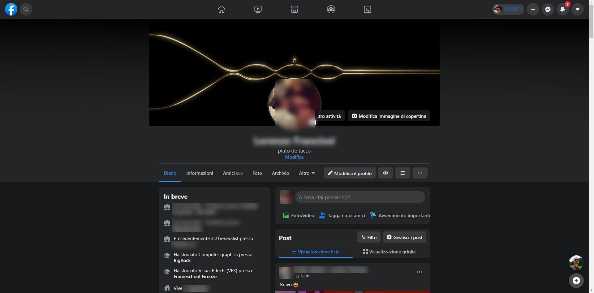 facebook nuova interfaccia marzo 2020 1