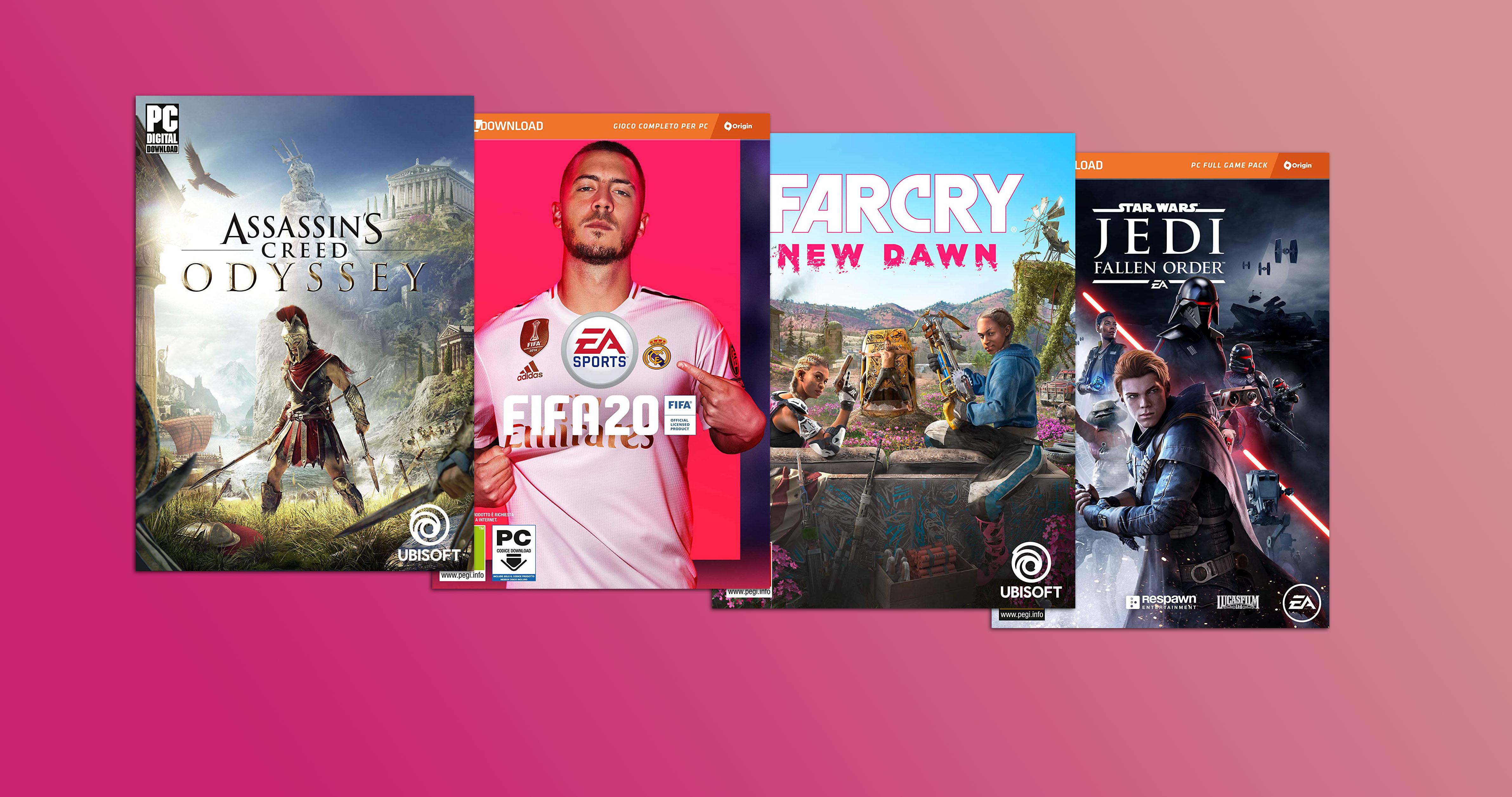 Sconti pazzeschi per Assassin's Creed, Far Cry, FIFA 20 e tanti altri giochi PC in versione digitale - image  on https://www.zxbyte.com