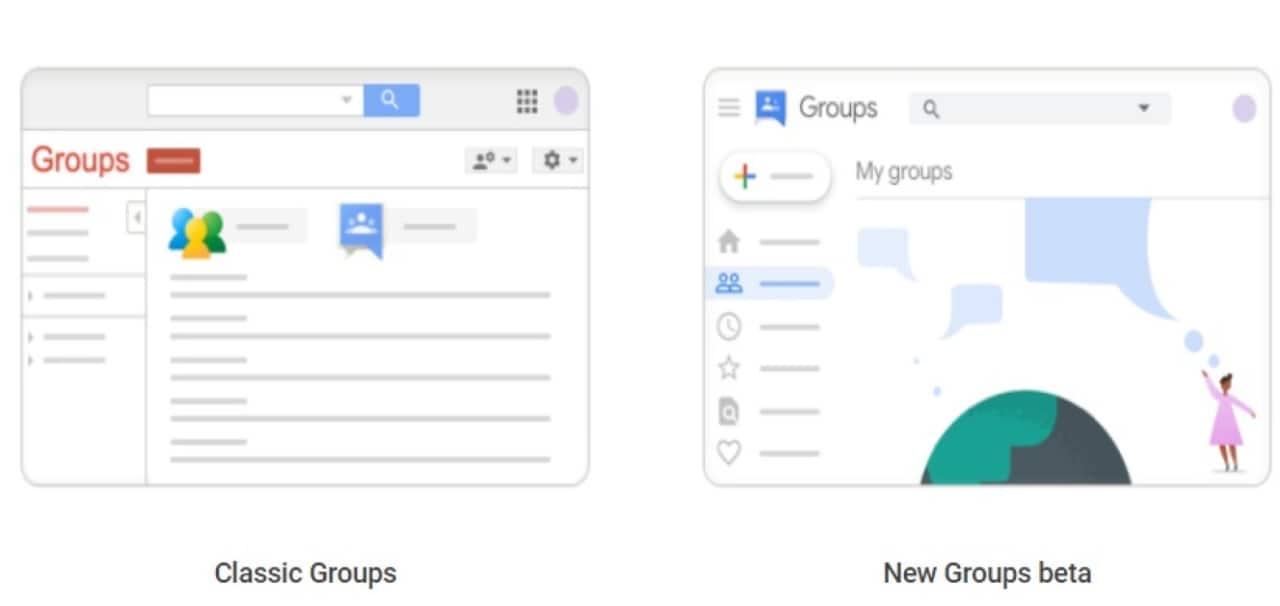 Google Gruppi ha una nuova grafica, in linea con gli altri prodotti Google (aggiornato)