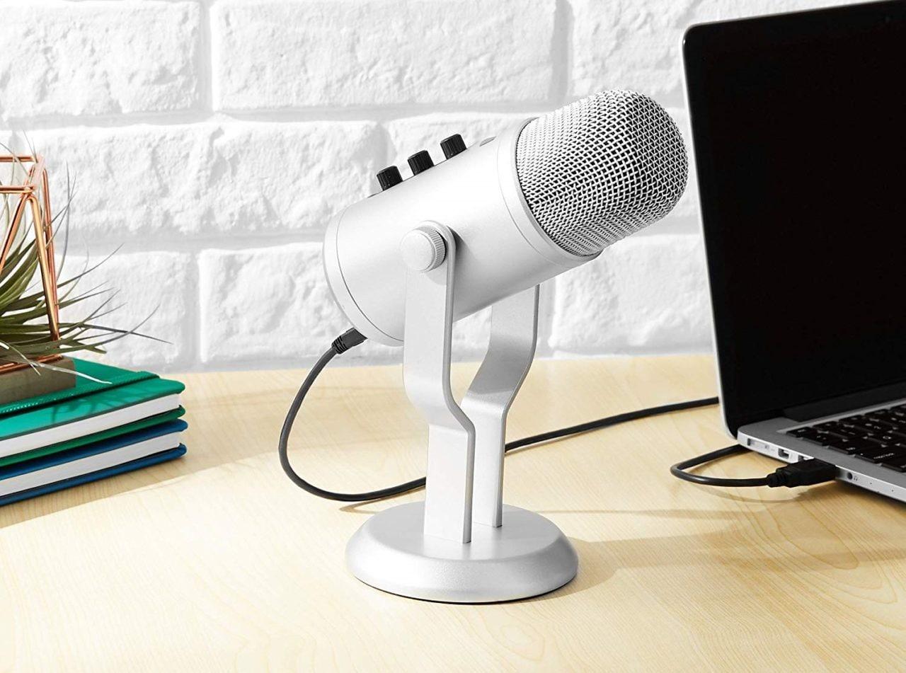Che bomba! Drastico calo di prezzo per il microfono USB di Amazon