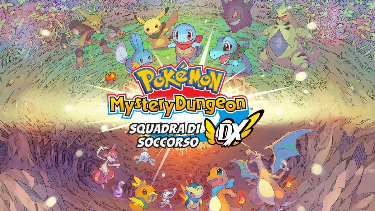 Pokémon Mystery Dungeon: Squadra di Soccorso DX è finalmente disponibile all'acquisto per Nintendo Switch e Switch Lite (video)