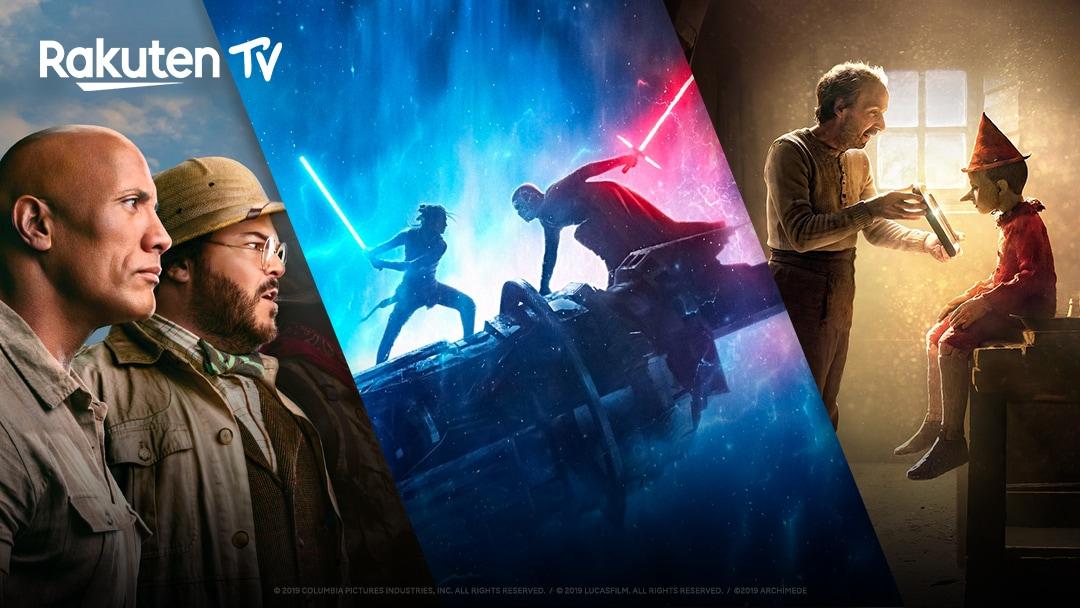 Le novità Rakuten TV di Aprile: Pinocchio, Jumanji 3, Star Wars IX, Piccole Donne
