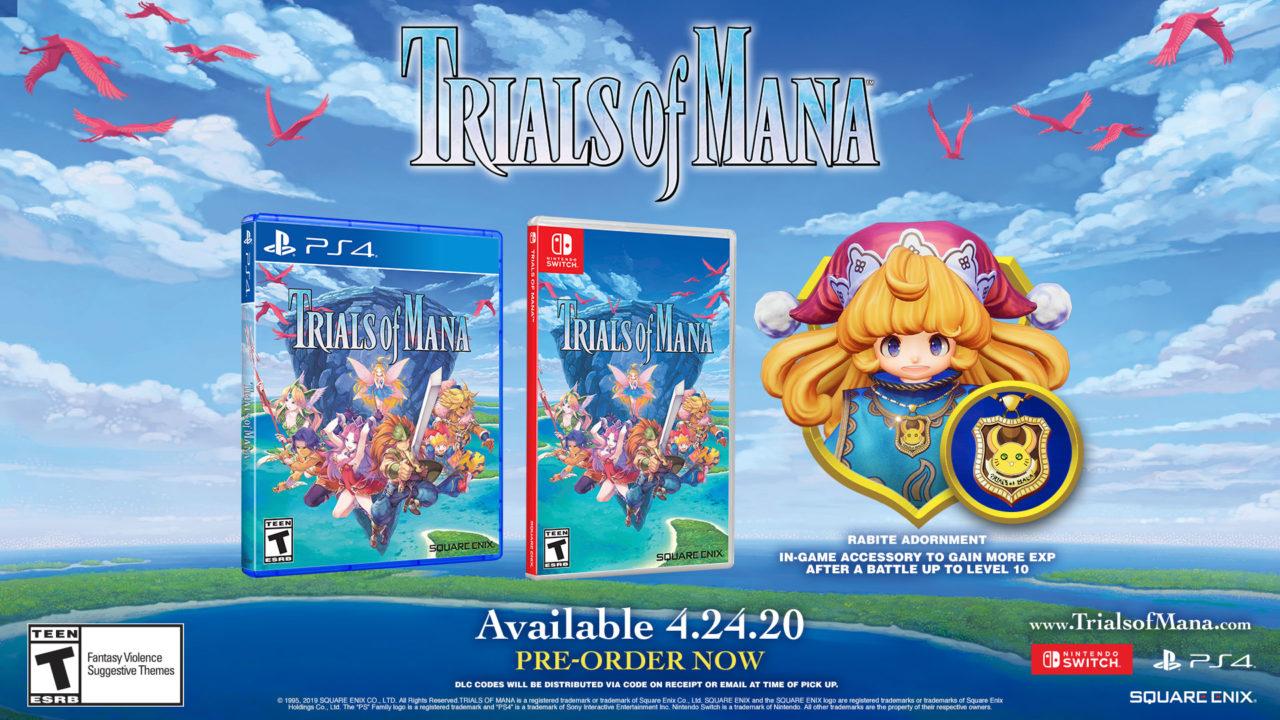 """Esplorate il mondo fantasy di """"Trials of Mana"""", su PS4, Nintendo Switch e Steam da fine aprile (video e foto)"""