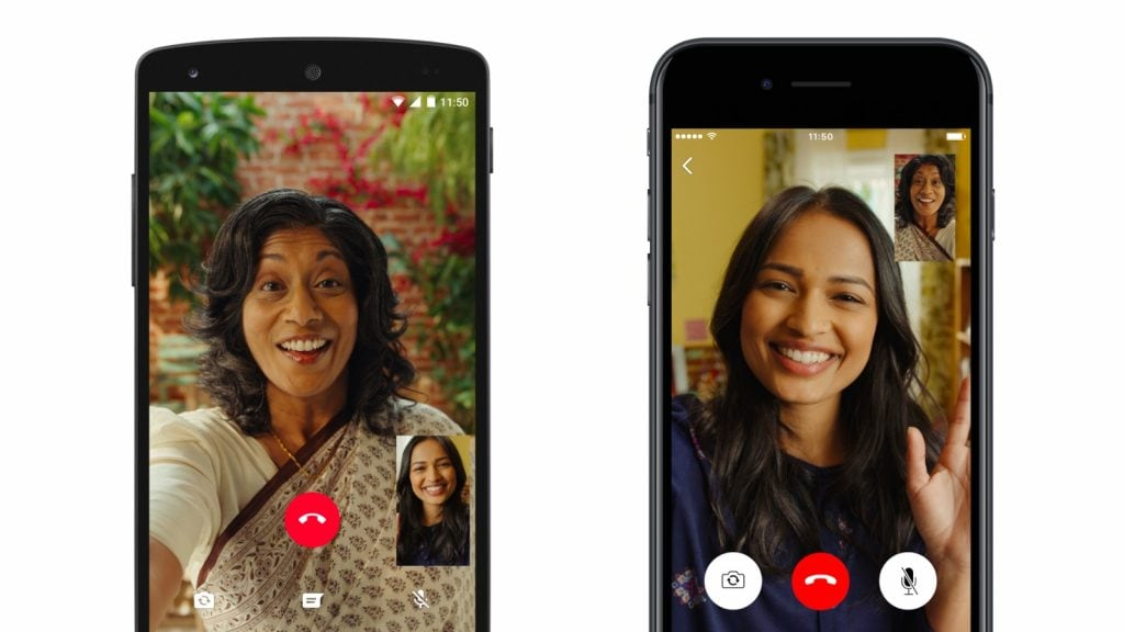 WhatsApp a lavoro per permettere videochiamate con 50 persone, grazie a Messenger (foto)