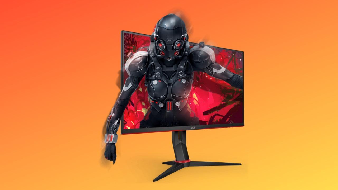 """Monitor AOC da gaming 27"""", 144 Hz e FreeSync in sconto al miglior prezzo"""