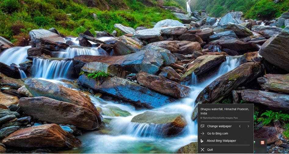Ogni giorno uno sfondo nuovo con l'app Bing Wallpaper per Windows (foto)