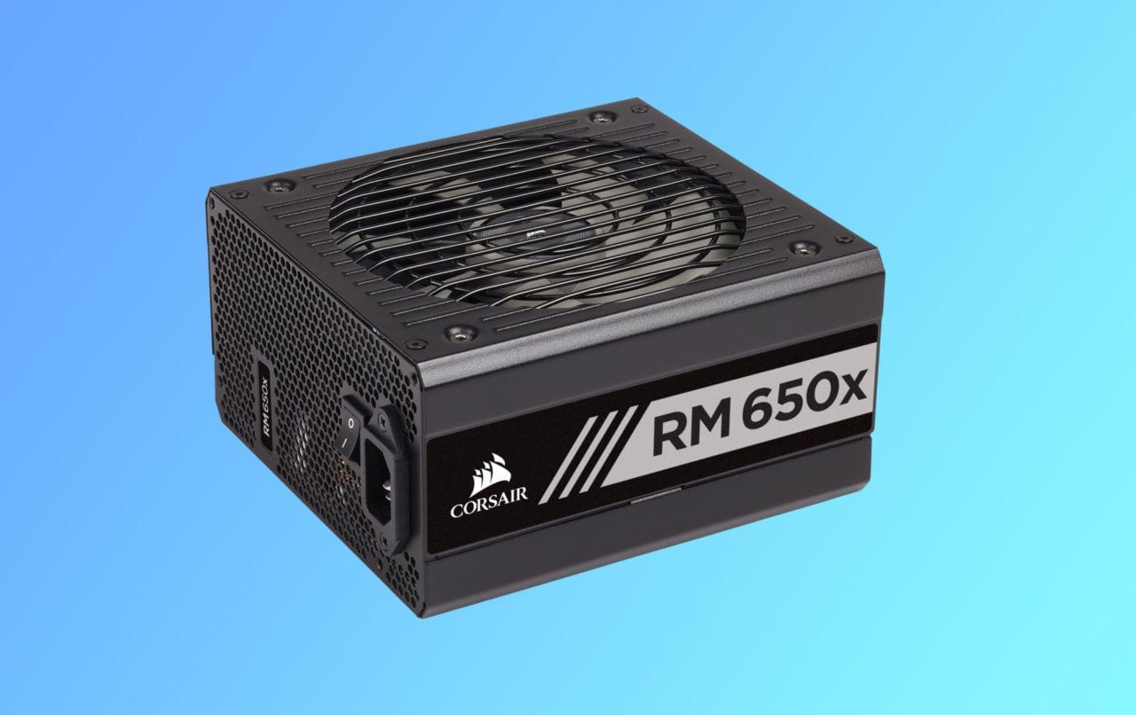 Corsair RM 650x al miglior prezzo di sempre su Amazon: solo pochi pezzi rimasti!