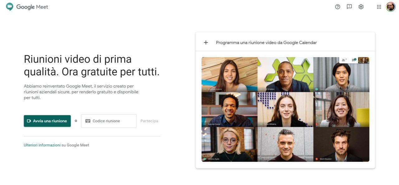 Google Meet gratis per tutti da... ora! E lo rimarrà anche in futuro (aggiornato)