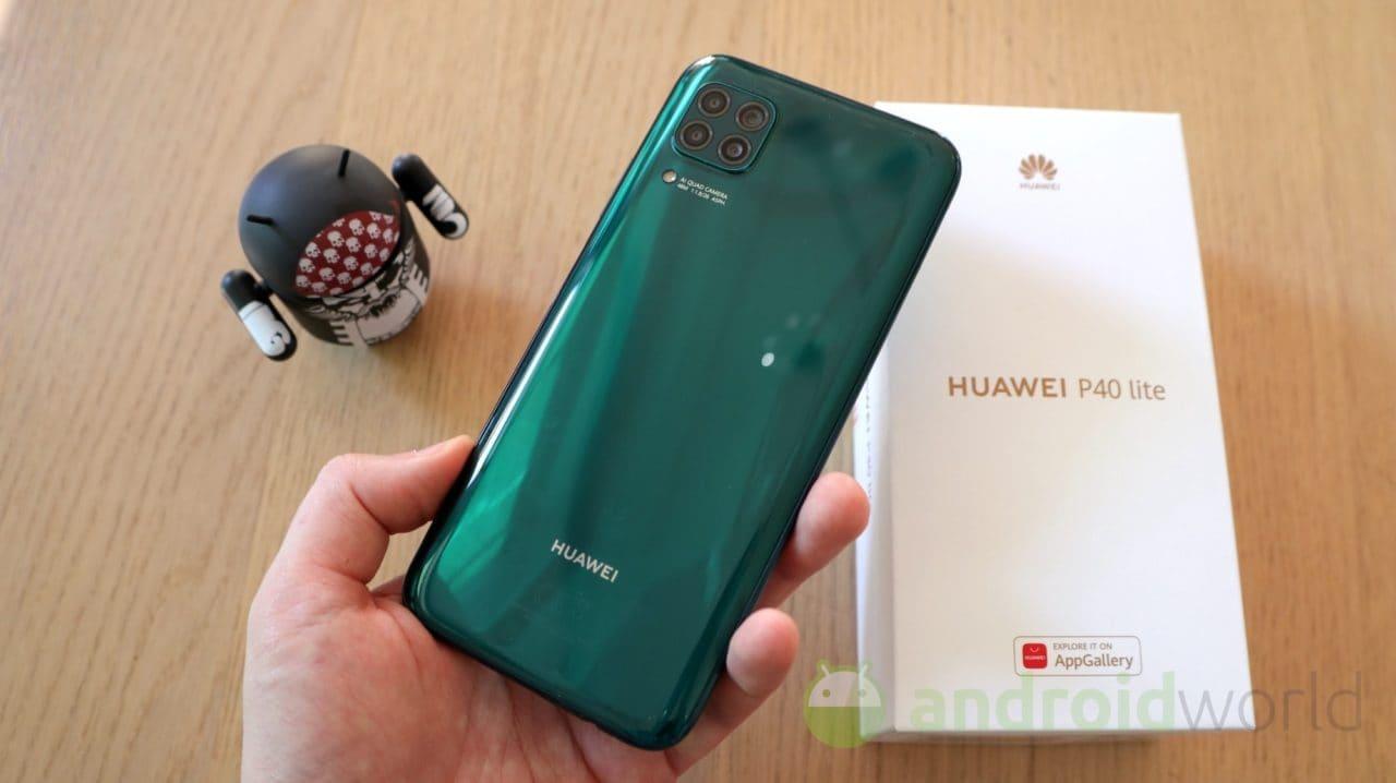 Huawei P40 Lite batte un colpo e si aggiorna con le patch di settembre