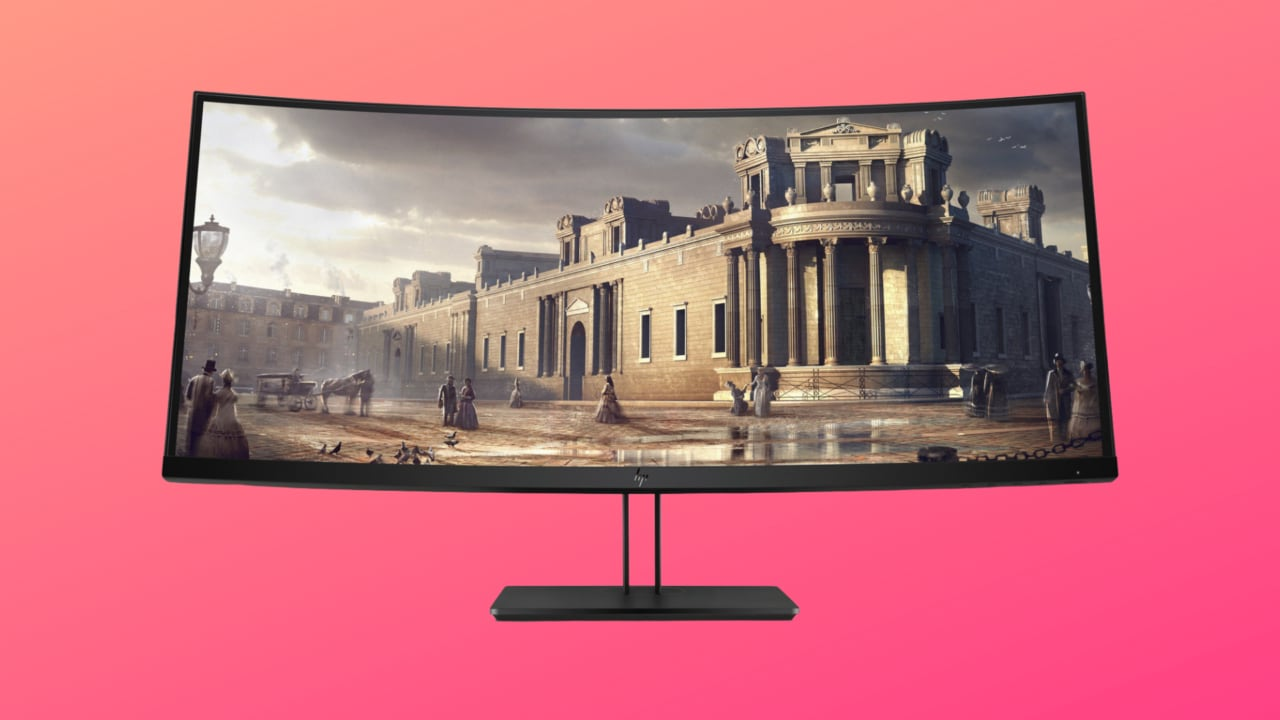 Monitor HP Z38c da 37.5'' al miglior prezzo: curvo, in 4K e senza compromessi