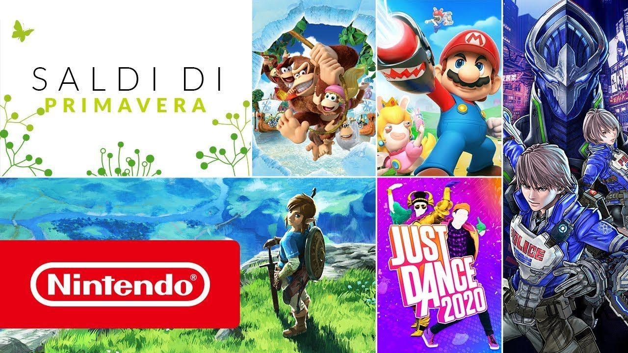 """Sconti Nintendo Switch """"Saldi di primavera"""": Zelda, Donkey Kong e altri! (aggiornato)"""