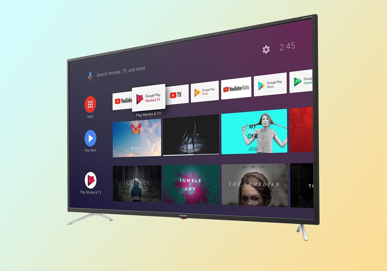 """Android TV a prezzo scontato: Sharp Aquos 4K da 55"""" oggi al minimo storico su Amazon"""