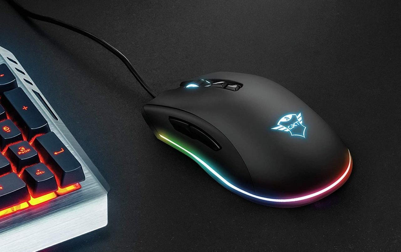 Trust GXT 900 Kudos si fa interessante: mouse gaming 15.000 DPI e 7 pulsanti a 41€