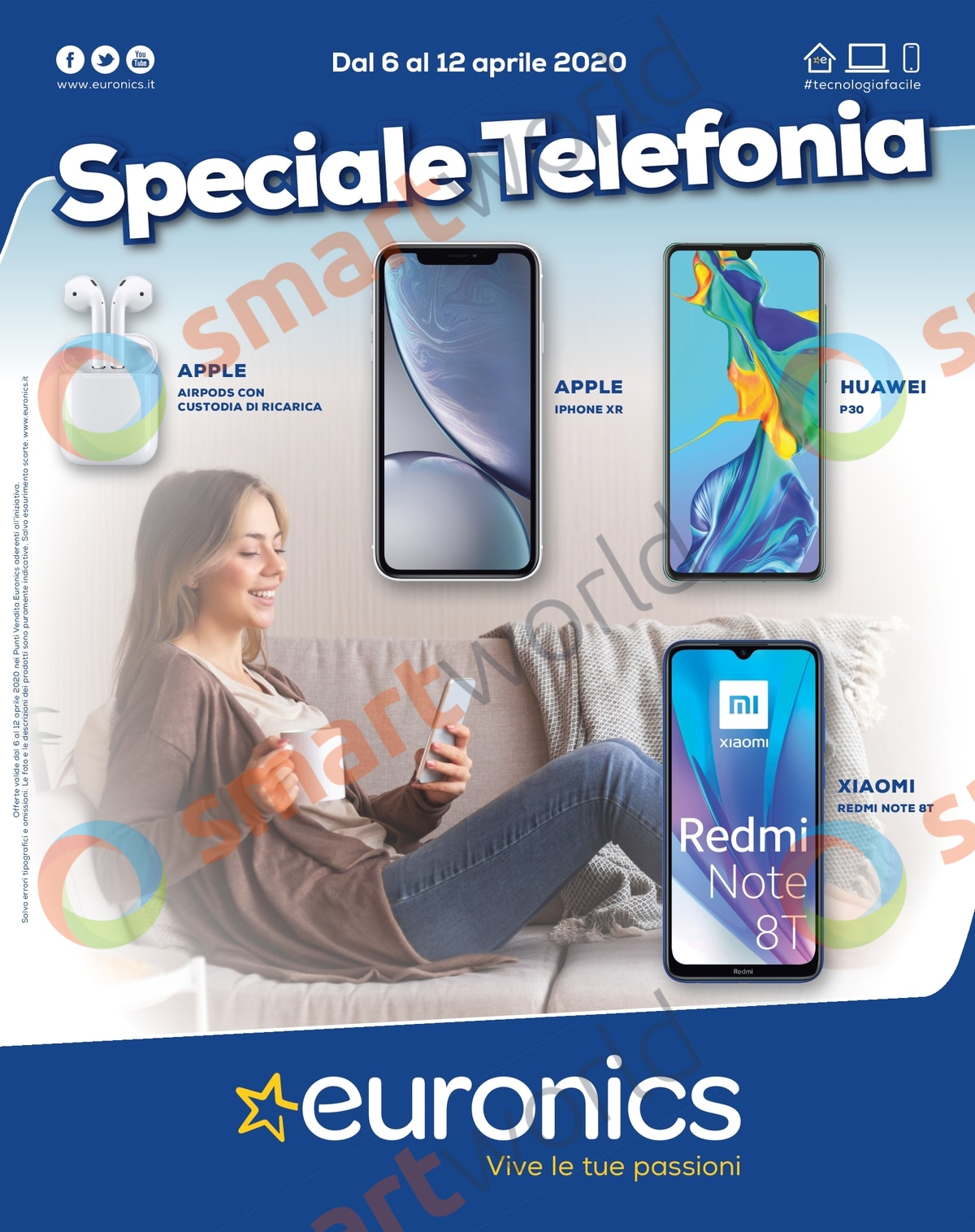 "Volantino Euronics ""Speciale Telefonia"" 6-12 aprile 2020 (1)"