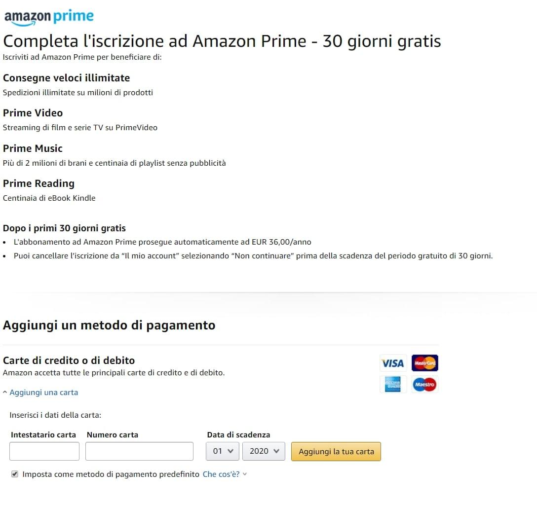 Amazon Down del 23 aprile: impossibile acquistare da sito e app