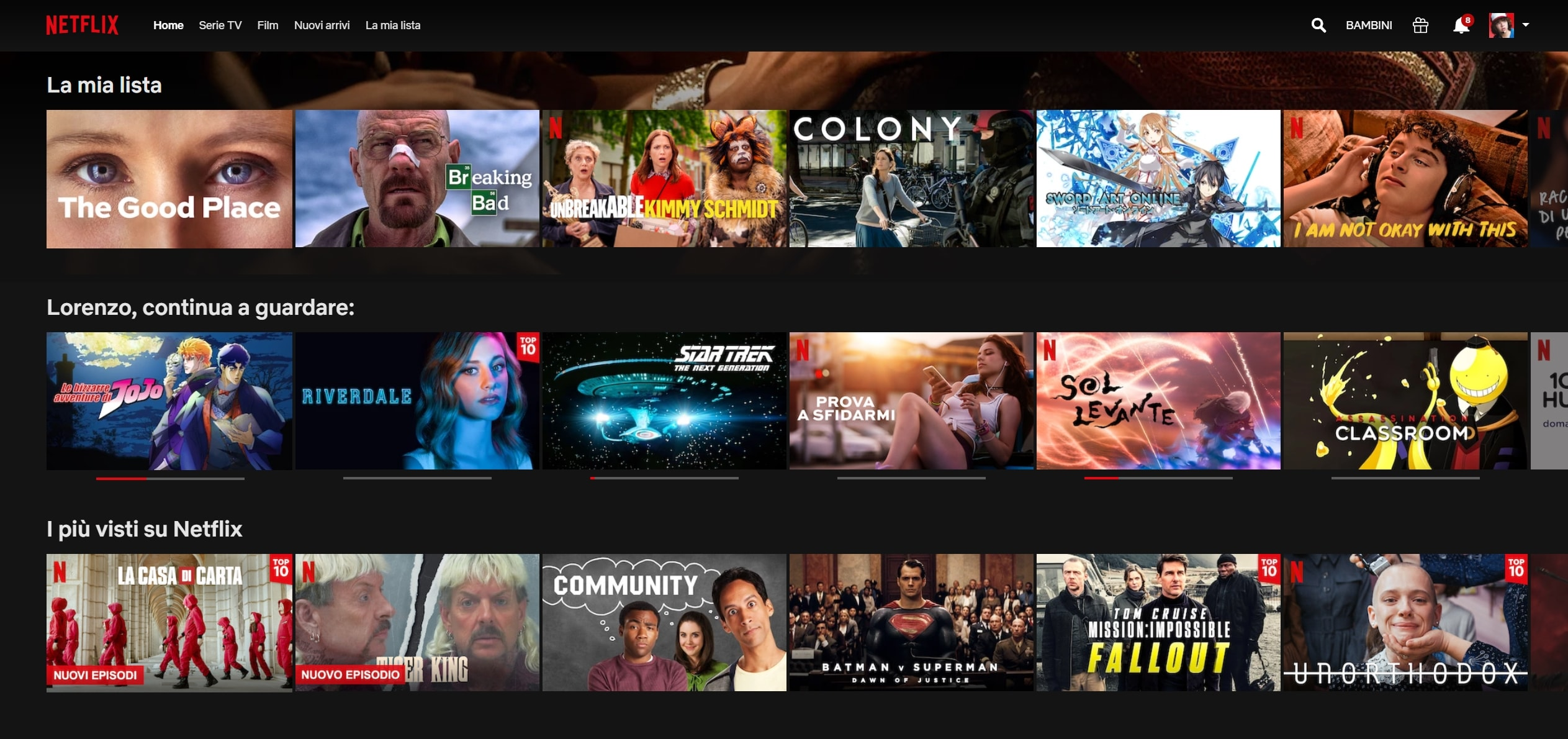 Cosa vedere su Netflix: serie TV, film, documentari, anime aggiornato al 30 aprile