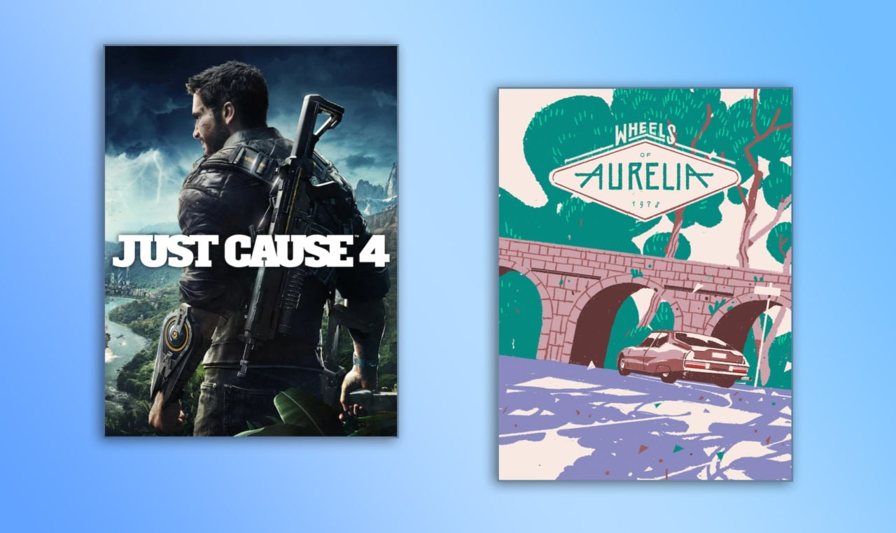 Just Cause 4 e Wheels of Aurelia gratis su Epic Games Store fino al 23 aprile (video)