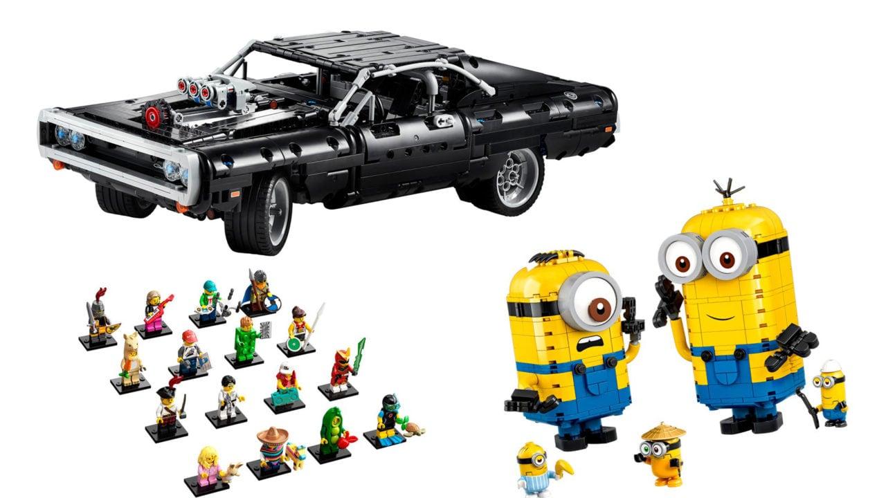 Disponibili da oggi LEGO Fast & Furious, Minions, Wonder Woman e la Serie 20 delle Minifigure!