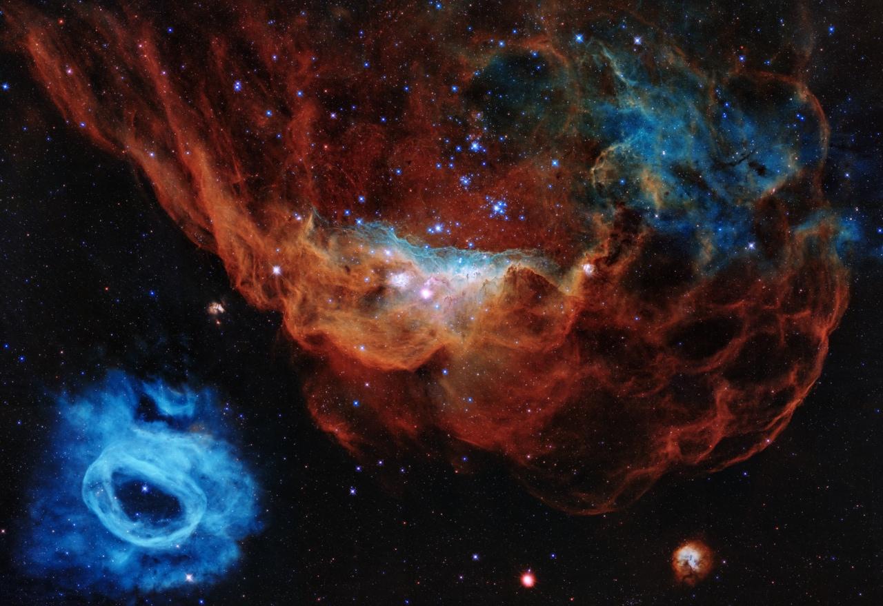 Per i suoi 30 anni il telescopio Hubble festeggia la nascita delle stelle (foto e video)