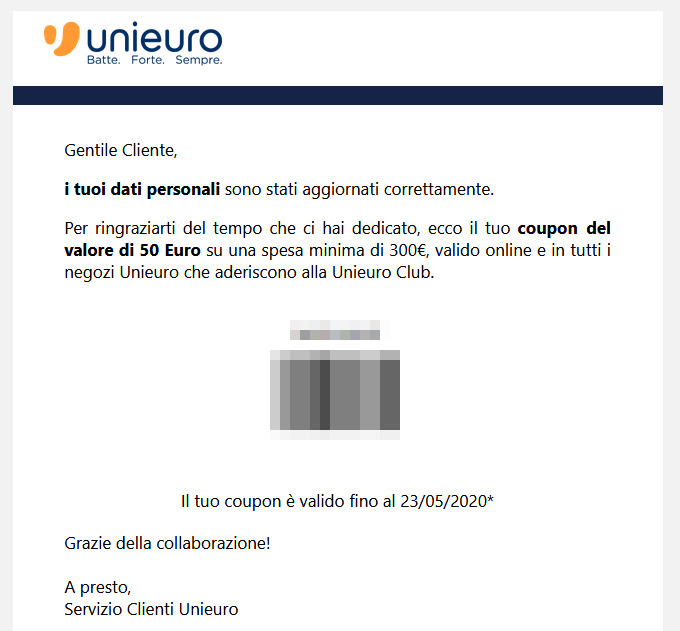 unieuro email