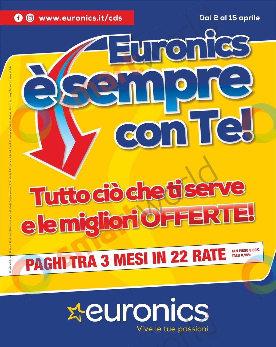 volantino euronics cds 2 15 aprile 2020 (1)