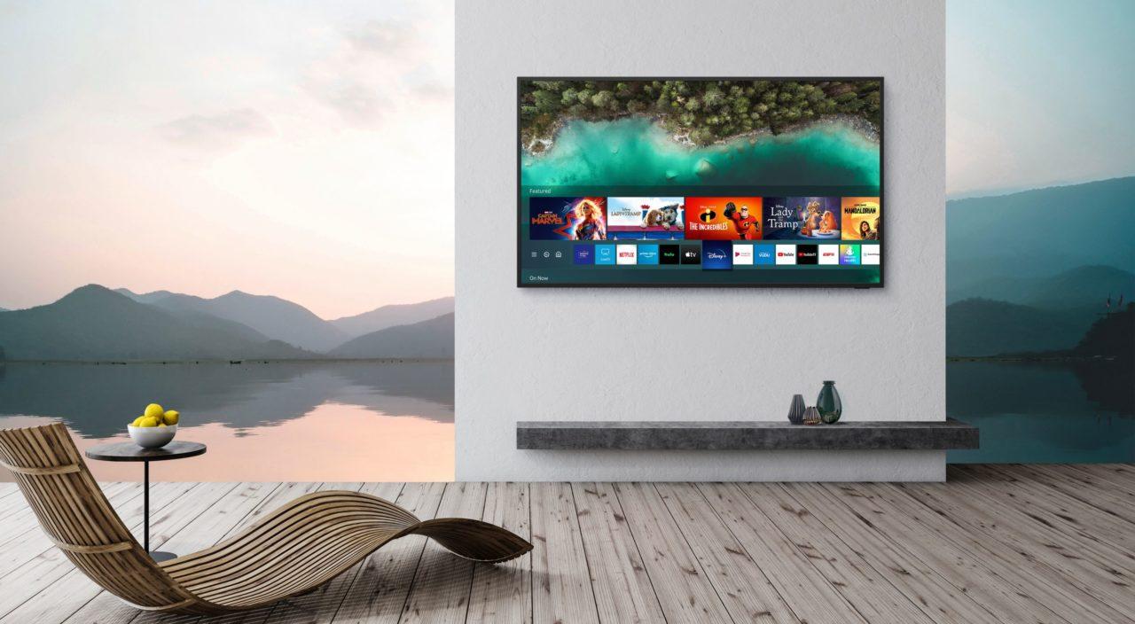 Samsung The Terrace è la TV 4K QLED pensata per stare sempre all'esterno (foto)