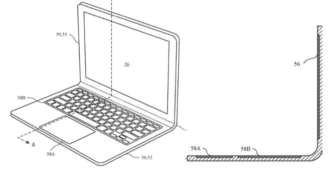 Dite addio alle cerniere: Apple starebbe pensando ad un MacBook flessibile (foto)