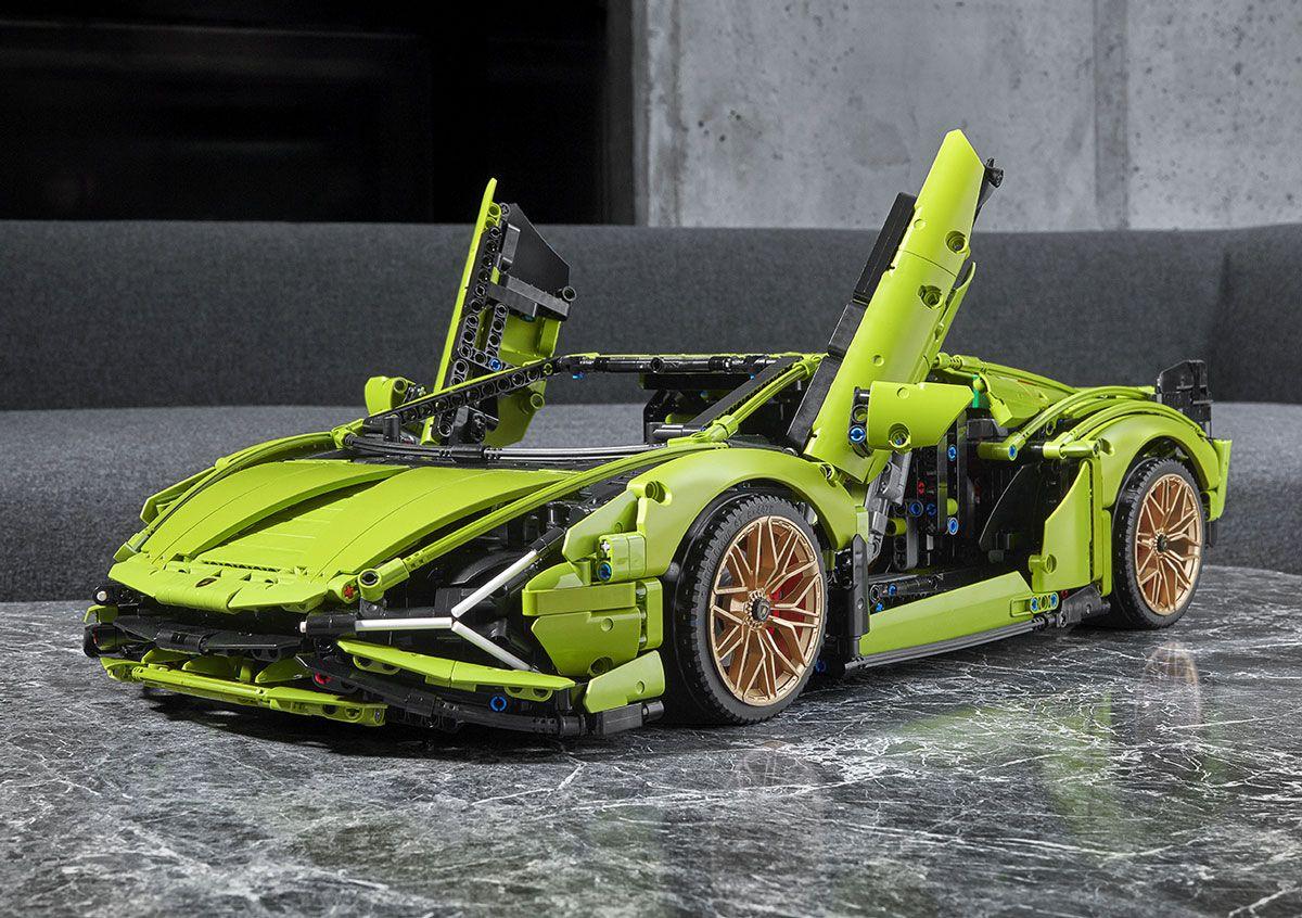 La meravigliosa LEGO Technic Lamborghini Sián FKP 37 disponibile da oggi! (foto e video)