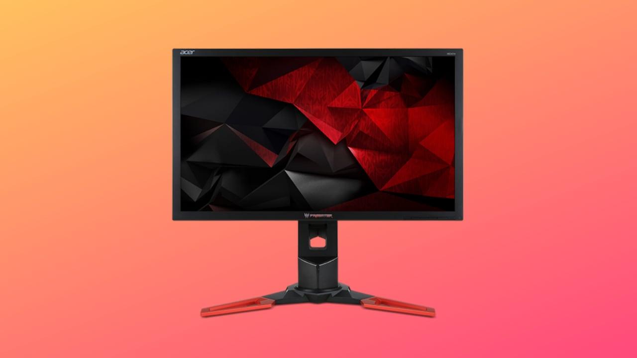 Monitor gaming a 165 Hz con G-Sync? Acer Predator XB241YU in sconto Amazon al minimo storico