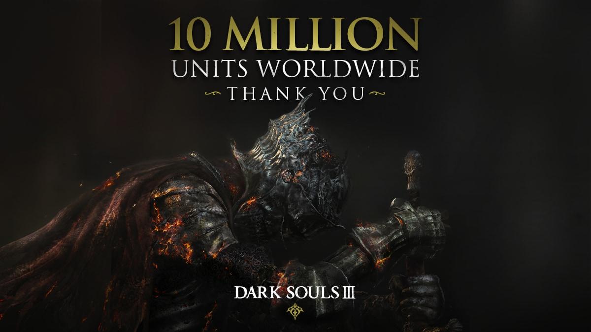 Dark Souls III festeggia il traguardo delle 10 milioni di copie vendute! (foto)