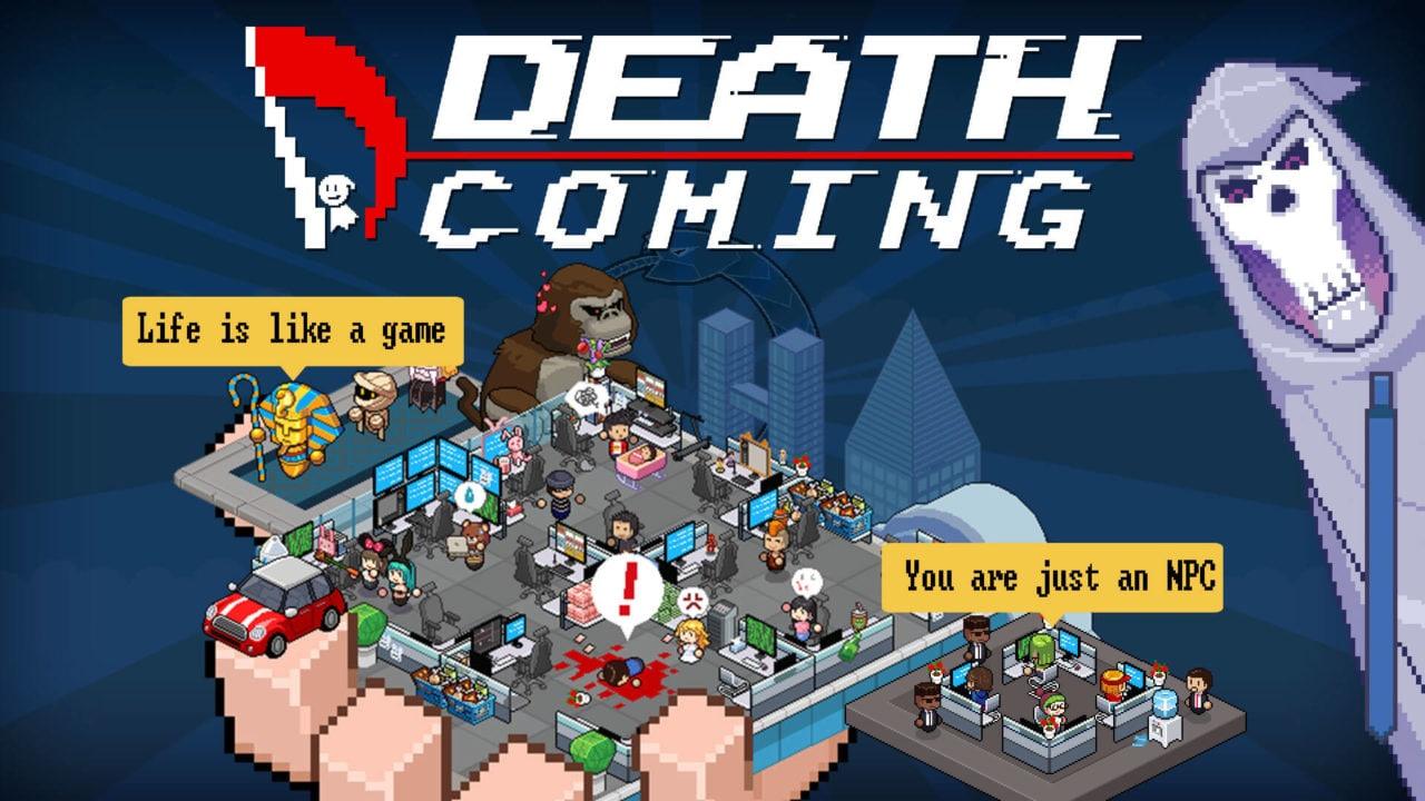Death Coming gratis su Epic Games Store fino al 14 maggio: mettetevi nei panni della Morte! (video)