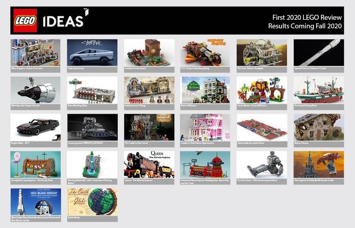 LEGO Ideas: numero mai visto per i progetti che passano alla prima revisione (foto)