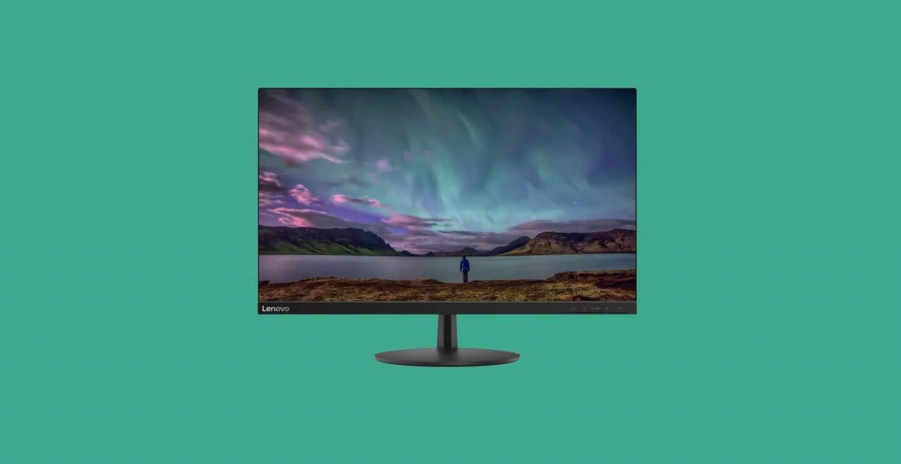 """Monitor Lenovo 27"""" a buon prezzo: design essenziale, Full HD e 75 Hz"""