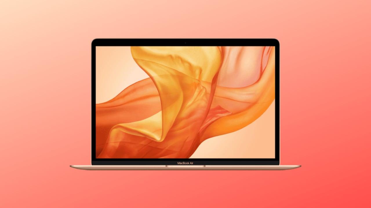 MacBook Air 13 2020 in offerta su Amazon a 979€: minimo storico!