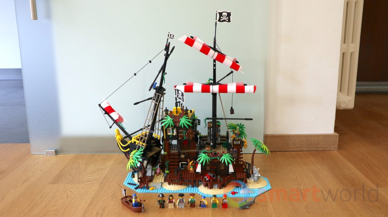 LEGO I pirati di Barracuda Bay 21322: la video-recensione