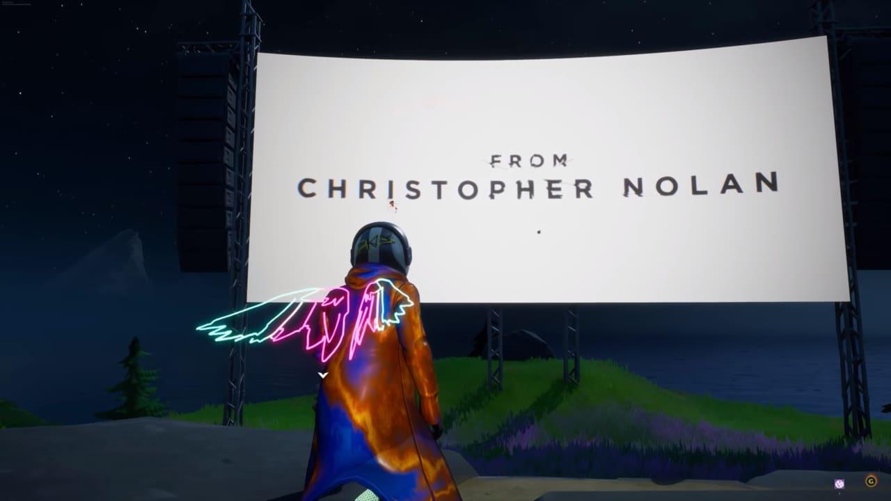 Nel Party Reale di Fortnite arriva la serata film a tema Christopher Nolan: si parte con Inception!