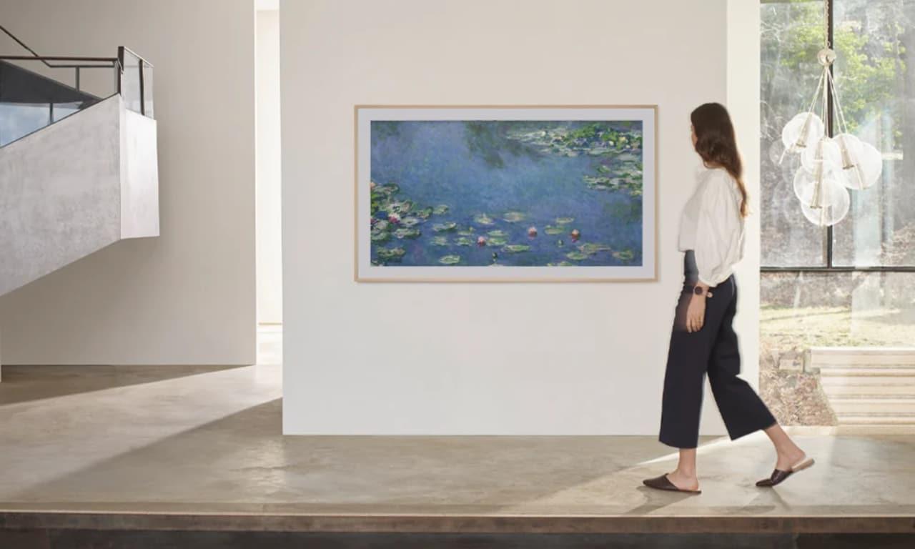 Samsung arricchisce i suoi TV The Frame con opere d'arte e scatti di fotografi rinomati (foto)