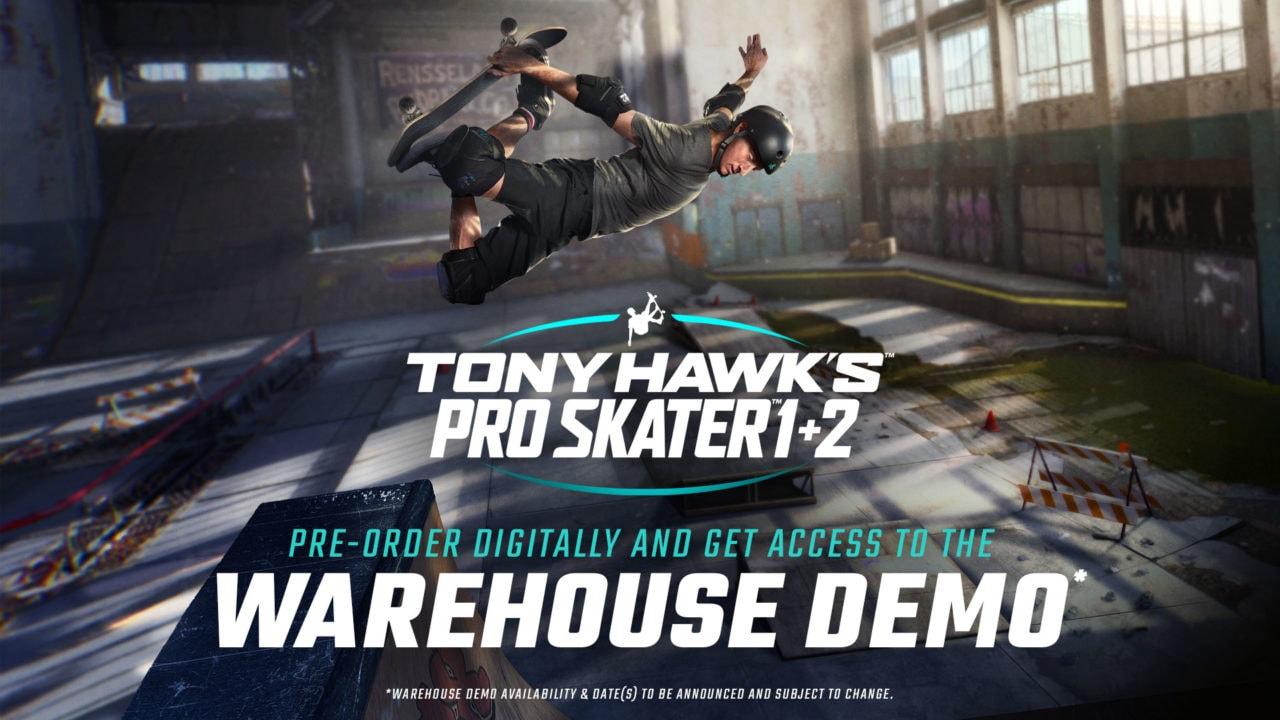 Ecco a voi il remaster di Tony Hawk's Pro Skater 1+2: lo skate in 4K è già in preordine (video)