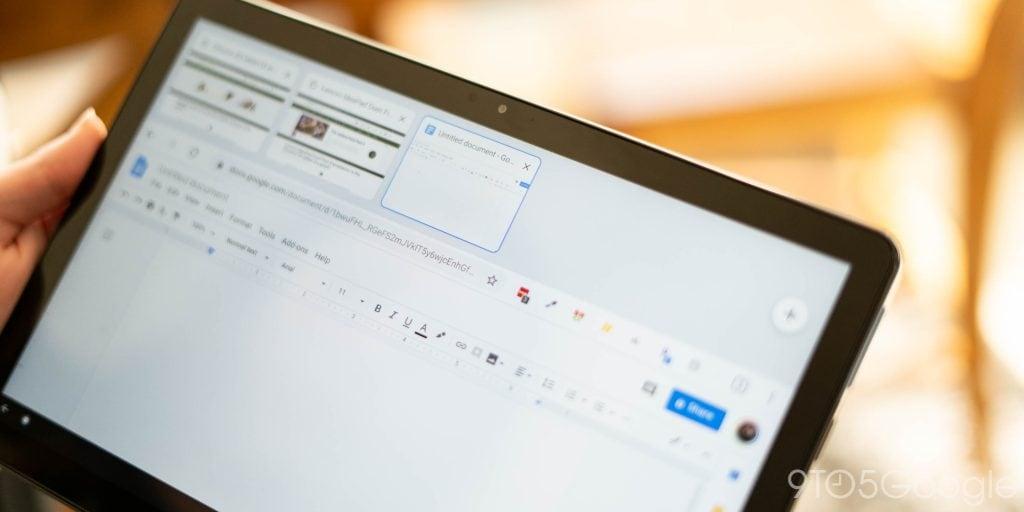 Google ritocca l'interfaccia browser di Chrome OS in modalità tablet (video)