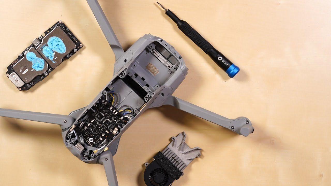 iFixit smonta il DJI Mavic Air 2: primo della classe anche in riparabilità? (video)