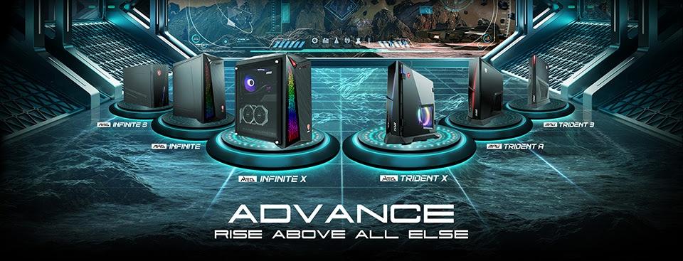 MSI rinnova i suoi PC desktop gaming: ecco le nuove serie Trident e Infinite con Intel Core di decima generazione (foto)