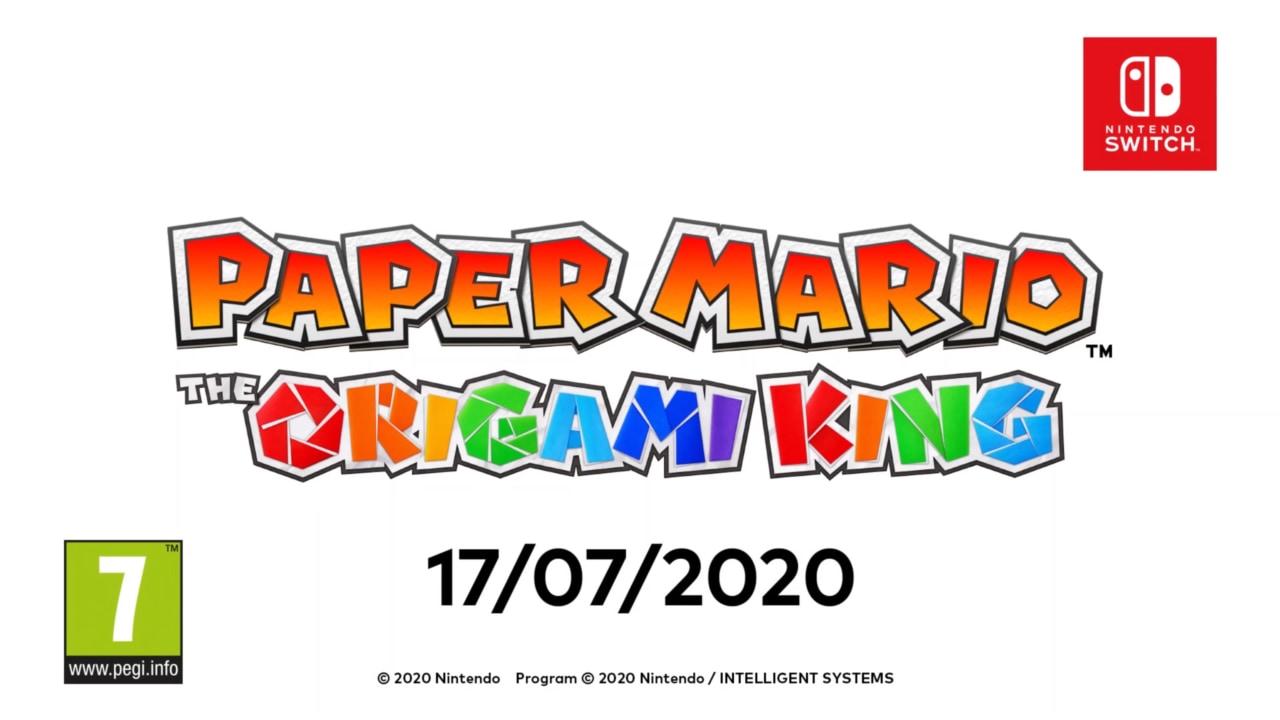 Così, di botto: un nuovo titolo Paper Mario arriva su Switch il 17 luglio! (video)