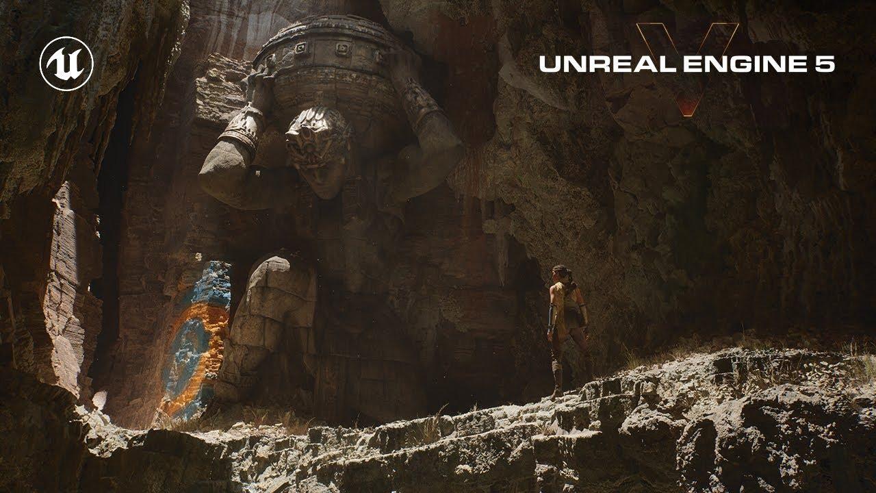 Il primo video gameplay di PS5 è realizzato con il nuovo Unreal Engine 5! (video)