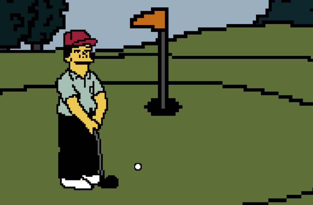 Ora anche voi potete giocare al videogame che tutti i ragazzi di Springfield vogliono: Ammazza Che Mazza è disponibile online