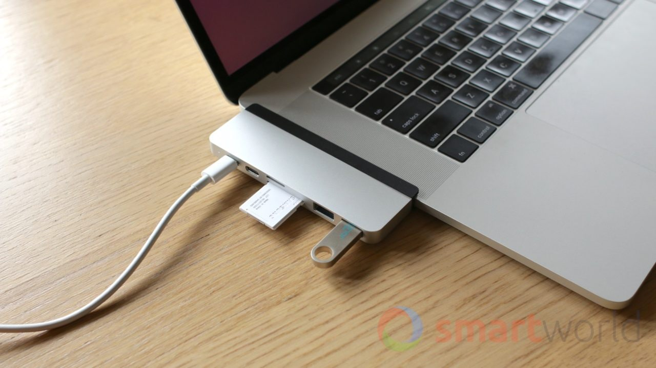 Hyper Drive, il dock portatile per MacBook Pro che funziona con le cover (prova)