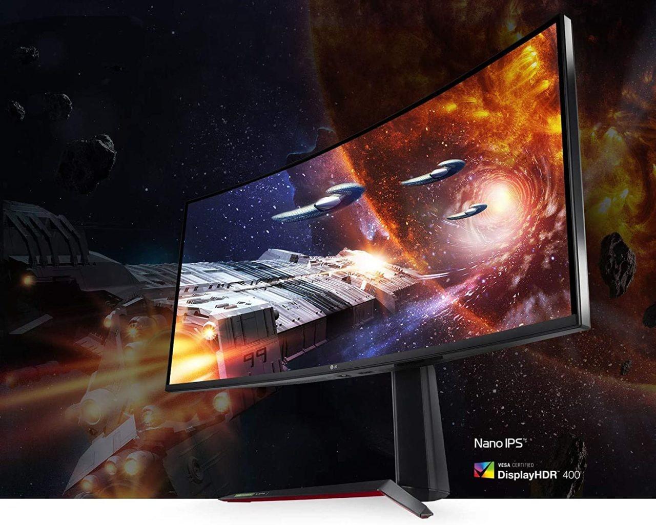 LG Monitor UltraGear 34″: il top del top per giocare, ed è al suo minimo storico!
