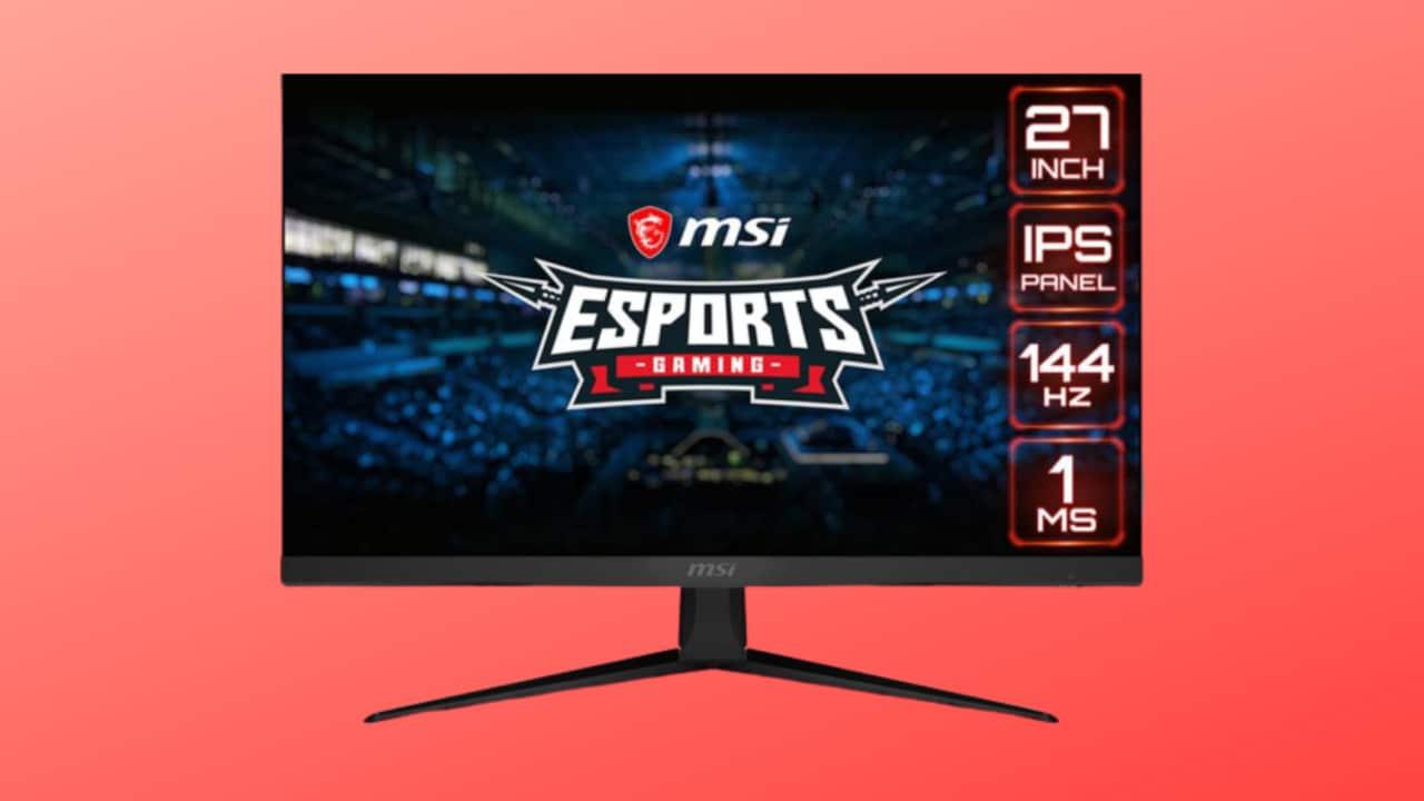 """Monitor gaming MSI Optix 27"""" a meno di 200€ su Amazon: perfetto per gli e-Sport!"""